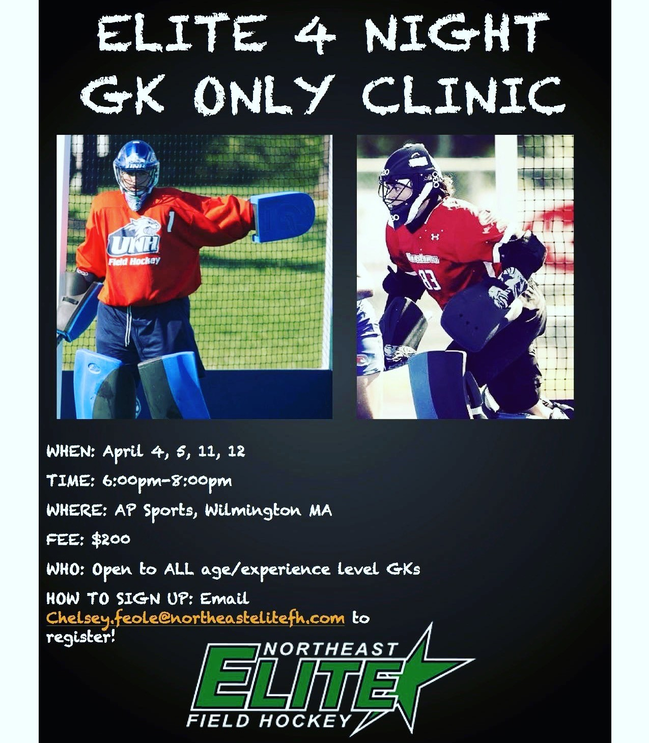 2017 GK ONLY CLINIC SERIES