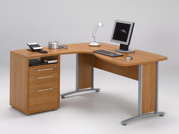 Prima Office Corner Desk with File 80400/44 - Room 2 - Prima - Office