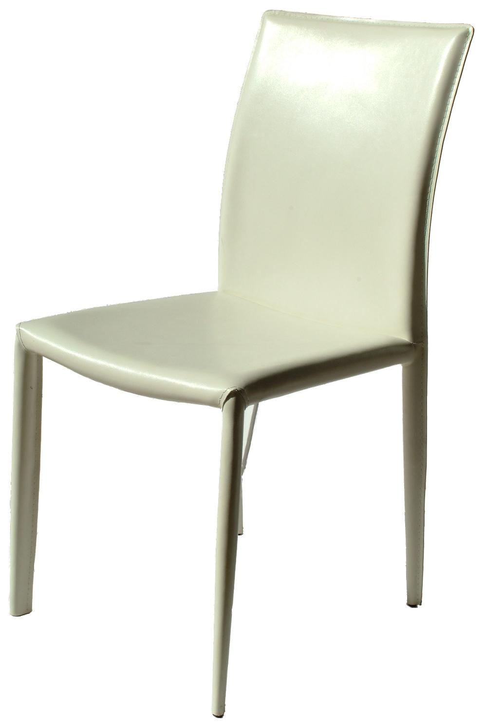 Venice white leather dining chair chairs home furniture for White leather dining chairs