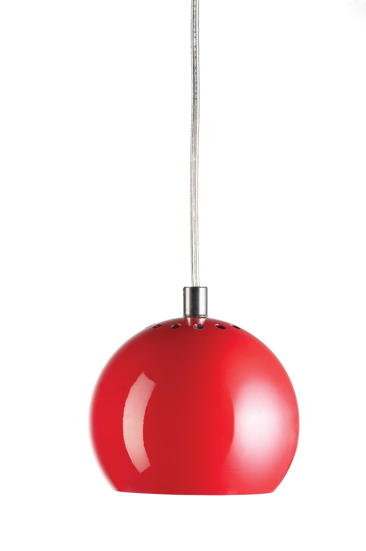 Ball Pendant Red