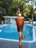 Princeton Garden Torch Patina Finish