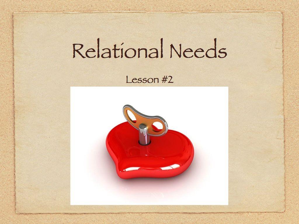 Audio & Handout Lesson  #2