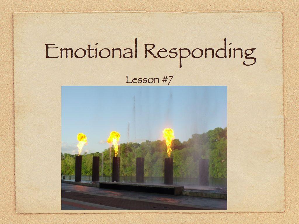 Audio & Handout  Lesson #7