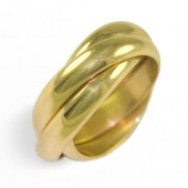 3RO Ladies 18K Gold