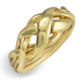 4NX Ladies 14K  Yellow Gold