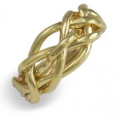 5Q Ladies 14K Yellow Gold