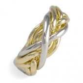 6SP Ladies 18K Yellow Gold
