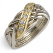 6WBD Men's 18K Yellow Gold w/ Diamonds
