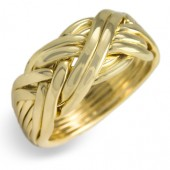 8WB Men's 14K Yellow Gold