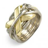 7NG Men's 14K Gold