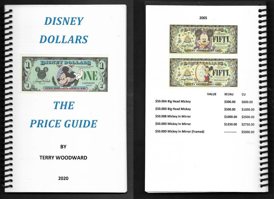 Disney Price Guide 2020 by Terry Woodward Stock No. D1