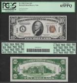 SM HAWAII $10.00 FRN 1934A PCGS 65 GEM UNC. PPQ  Stock # S477PY