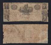 FLORIDA APALACHICOLA $20.00 Commercial Bank Good Stock # OFL2021C