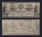 FLORIDA APALACHICOLA $20.00 Commercial Bank VF Stock # OFL2174C