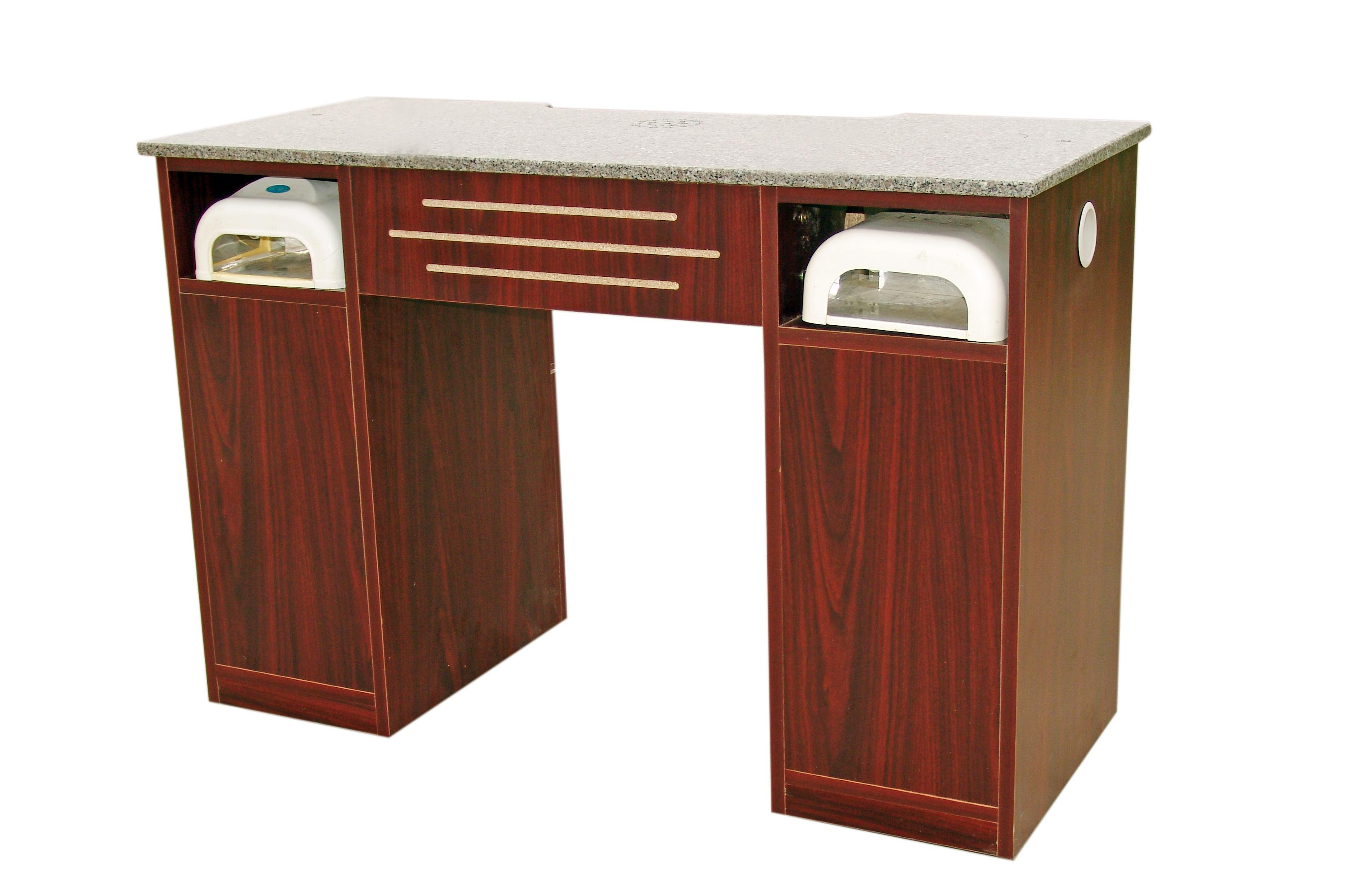 station desk manicure vented tables nail products lns