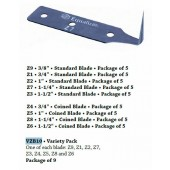 """Z Blade, 1"""" Coined"""