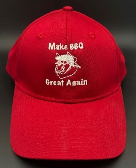 Make BBQ Great Again Hat Presidential