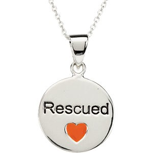 Rescued Pet Pendant