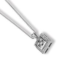Diamond Mystere Necklace