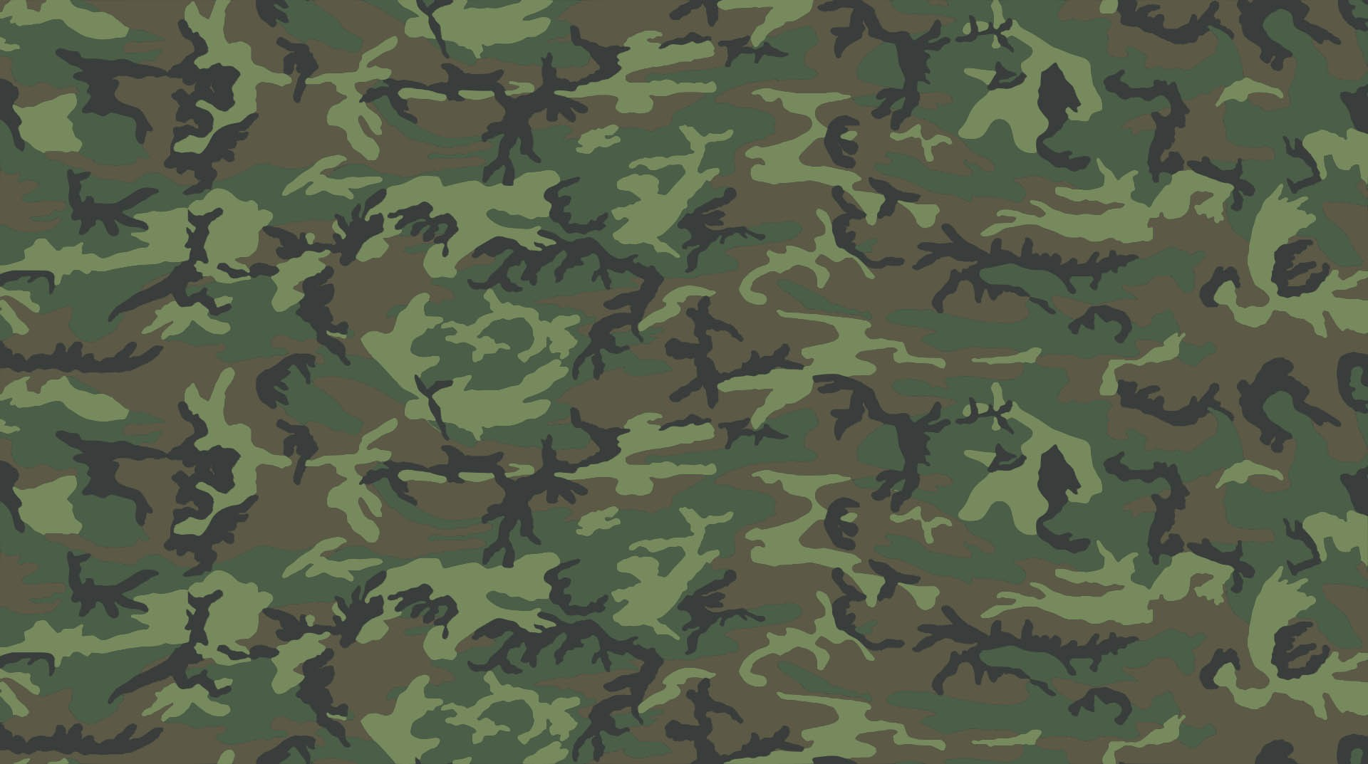 Green Lowland Camouflage Lid Wrap for RECTEC