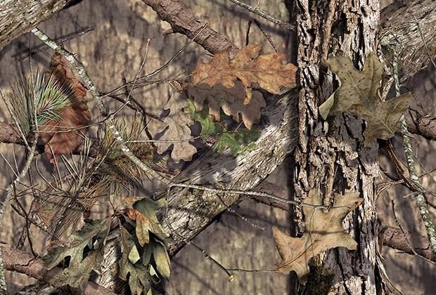 Mossy Oak Camouflage Lid Wrap for RECTEC