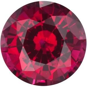 Ruby .08ct (same size as a .05ct diamond)