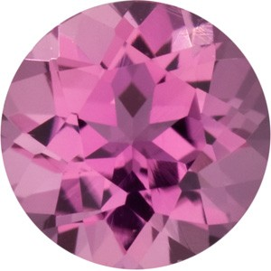 Pink Tourmaline .08ct (same size as a .05ct diamond)