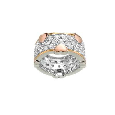 Rose Gold Plated Heart Ring