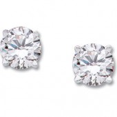 2.50ct tw Moissanite Stud Earrings