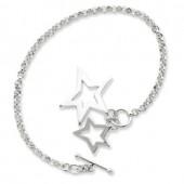 Star Toggle Bracelet