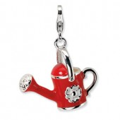 Sterling Silver 3-D Watering Can