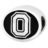 Ohio State Reflection Bead