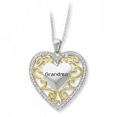 CZ Grandma Heart
