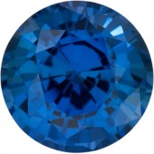 Sapphire .09ct (same size as a .05ct diamond)
