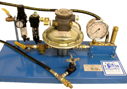 500 845 Hydro Pump Station 10 000 Psi Rated Air Operated
