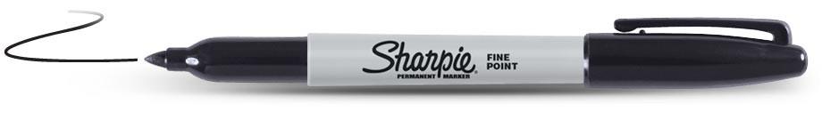 #230-300-PMFB: SHARPIE PERMANENT MARKER, BLACK