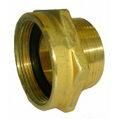 "#80-068: FIRE HOSE ADAPTER 2 1/2""(F)NST X 2 1/2""(M)NPSH"
