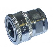 "#110-041: COUPLER,QUICK, 1/2""FNPT, STAINLESS STEEL"