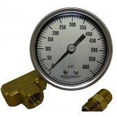 #140-085: GAUGE,600 PSI,CALIBRATED