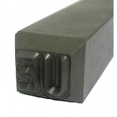 "#230-131-UE: STAMP,1/4""CHAR.,2 DIGIT (UE)"