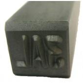 "#230-134: STAMP,1/4""CHAR., 3 DIGIT(3AL)"