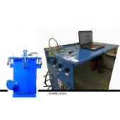 "#507-HP-24-M: SOFTWARE DRIVEN WATER JACKET TEST SYSTEM, WITH 24""D X 72""T WATER JACKET"