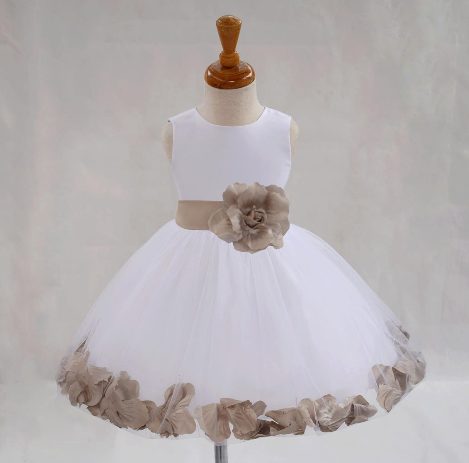 2695bef194f5 Beige Ekidsbridal Girls  Dresses - Sears