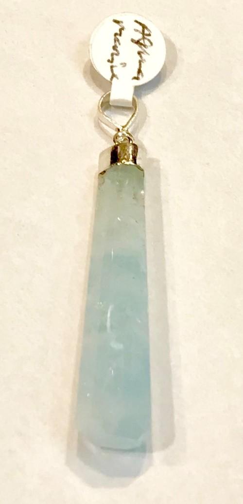 Aquamarine Natural Pendant Medium 2