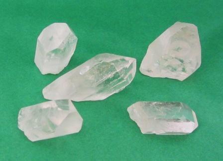 Clear Quartz Natural Points