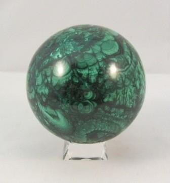 Malachite Polished Sphere Large
