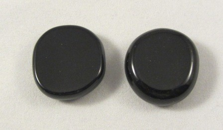 Black Obsidian Polished Coin