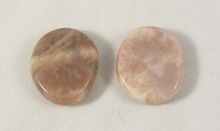 Moonstone Polished Coin