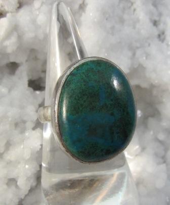 Chyrsacolla Cabachon Ring