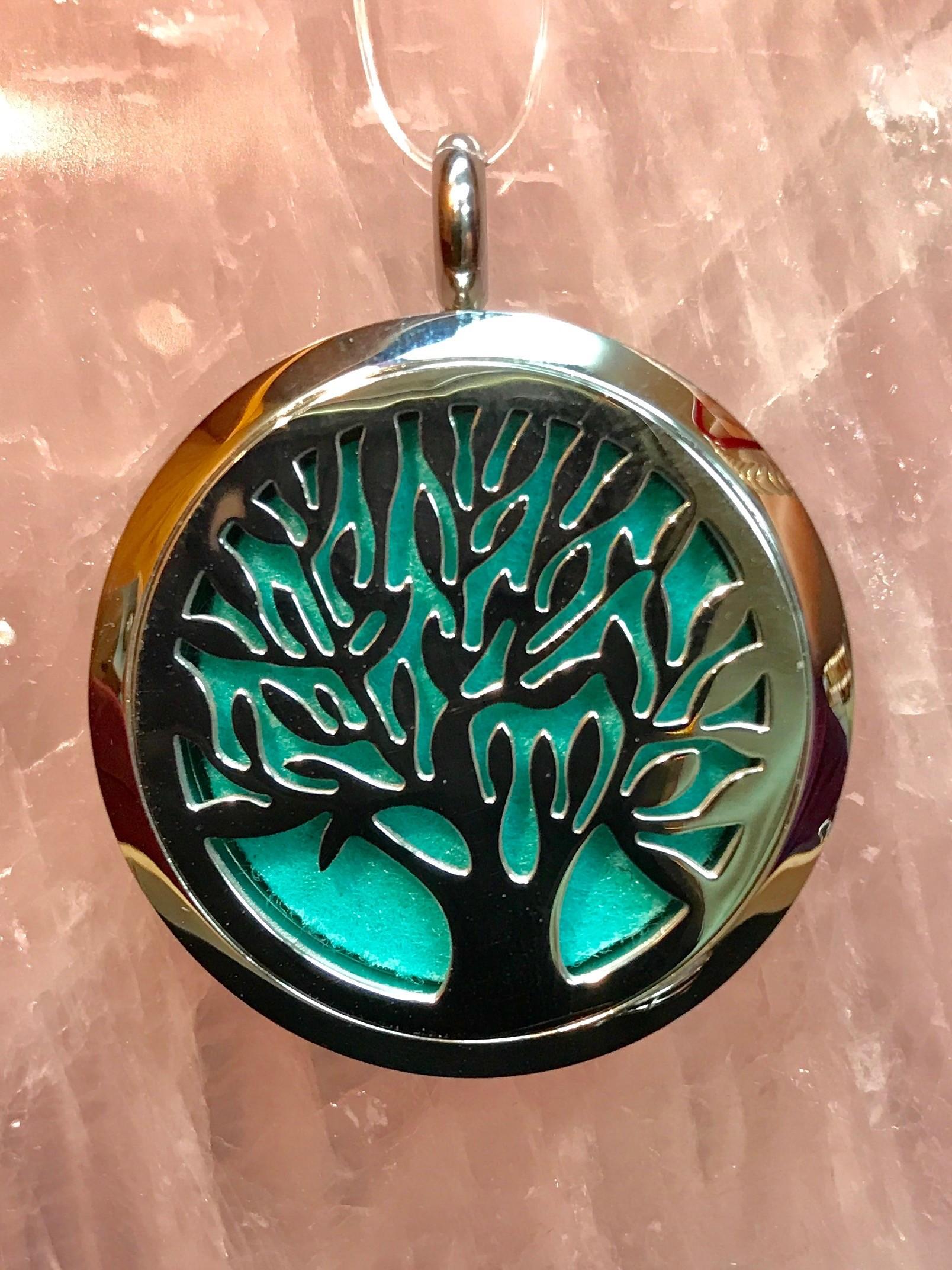 Tree of Life Aromatherapy Pendant